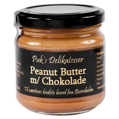 Peanut Butter med Chokolade