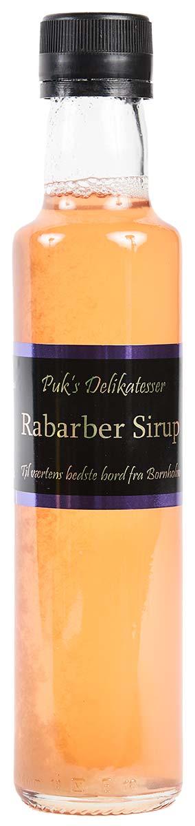 Rabarber Sirup