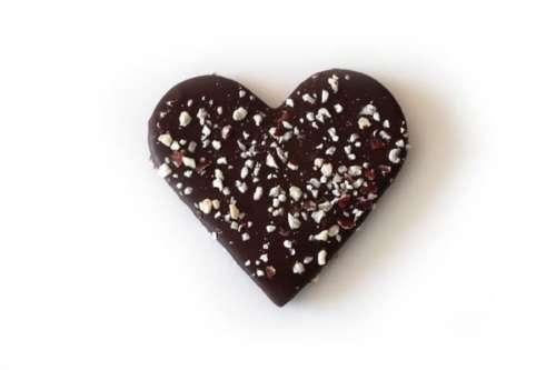 Chokolade-Fabrikken Nougat hjerte