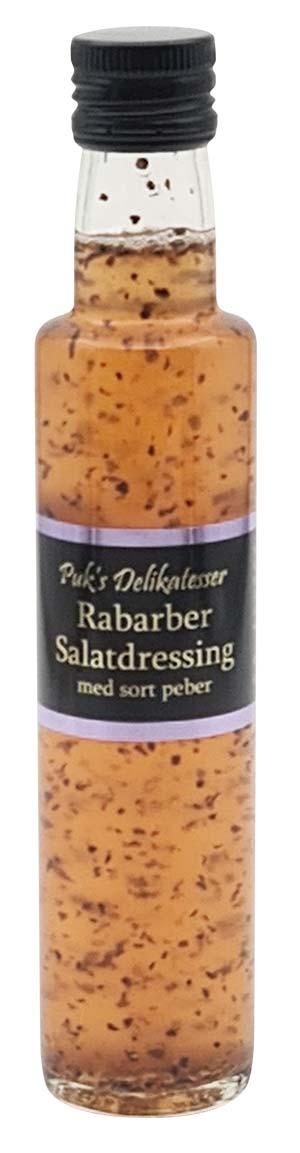 Rabarber Salatdressing